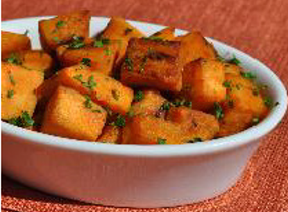 Oven roasted sweet potatoes recipe