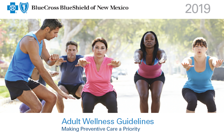NM Adult wellness guidelines