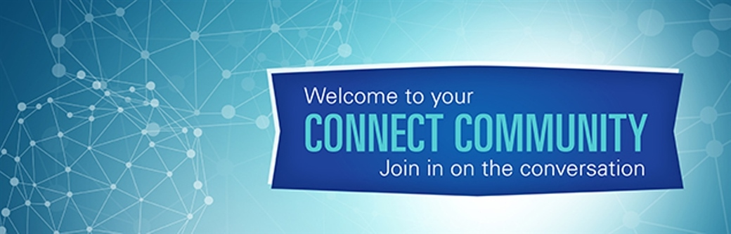 BCBSTX Connect Community welcome banner