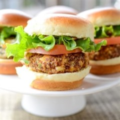 Quinoa Cheddar Sliders