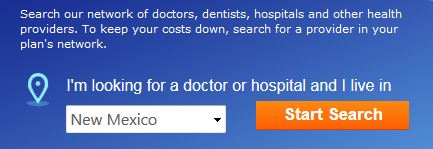 Find a doctor search